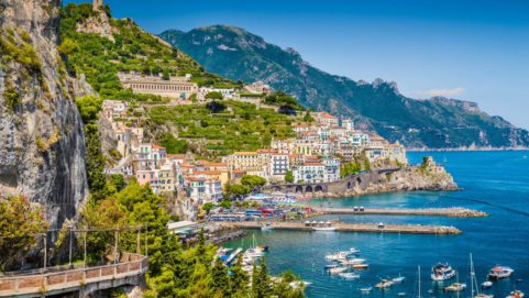 Self-Driving tour along the Amalfi Coast