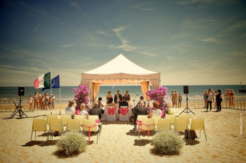 Wedding on the beach of JESOLO
